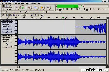 Скачать программы для записи звука, голоса.